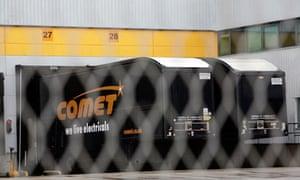 Comet distribution centre near Skelmersdale