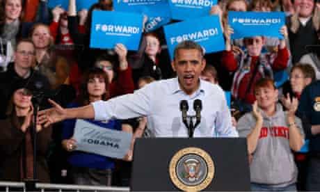 President Obama in Lima Ohio