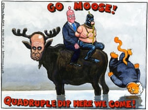 27.11.12: Steve Bell on the appointment of Mark Carney at the Bank of England