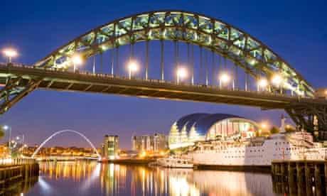 Tyne Bridge in Gateshead