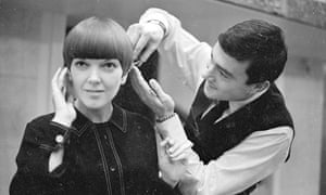 Mary Quant and Vidal Sassoon, 1964