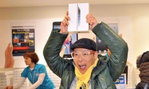 South Korean customer with an iPad Mini