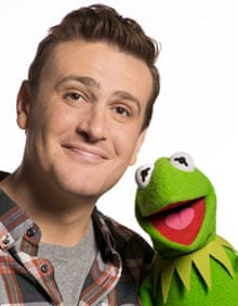 Jason Segel with Kermit