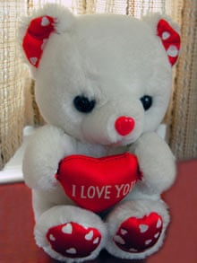 'I love you' teddy