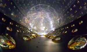 Anti-neutrino detector near the Daya Bay reactor in Guangdong, China