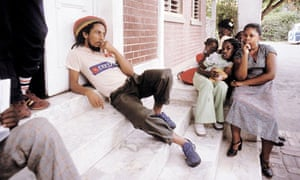Bob Marley in Kingston, Jamaica, 1980