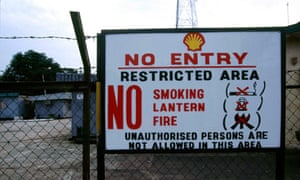 Shell in the Niger delta