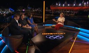 BBC Olympics studio