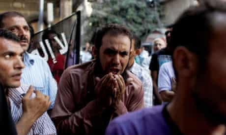 Protest in Egypt against film