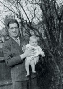 Jack Straw as a baby with his father, Walter