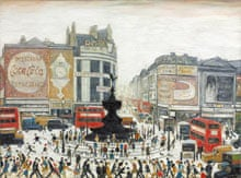 Lowry: Piccadilly Circus