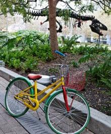 Outside Google HQ