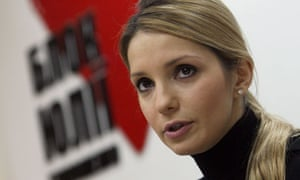 Yevgenia Tymoshenko, daughter of  jailed