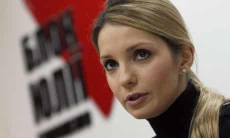 Yevgenia Tymoshenko, daughter of  jailed