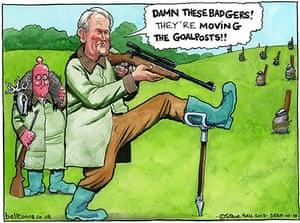 10.10.13: Steve Bell on the badger cull