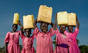Schoolgirls from Katine