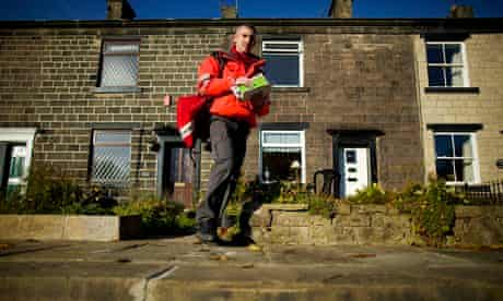 Royal Mail delivery worker