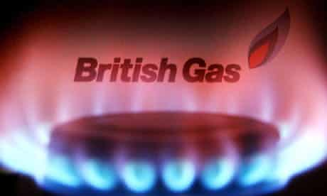 British Gas burner