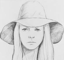 Errol Morris: artist's sketch of woman