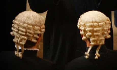 Judges wigs