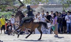 Riot police Brazil
