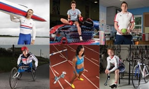 British 2012 Olympians and Paralympians composite