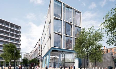 Google's proposed building for King's Cross in London