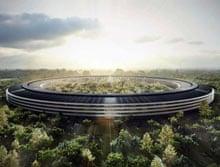 Apple's proposed California building