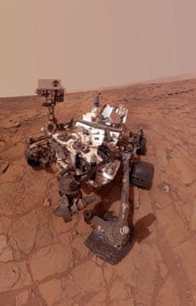 Curiosity Rover's Self Portrait