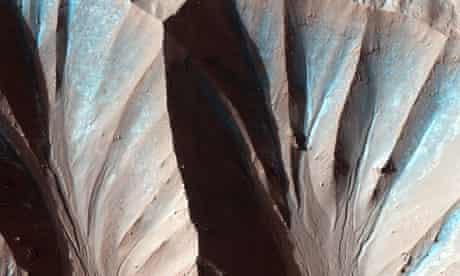 Landforms on Mars
