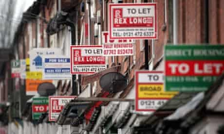 """""""To let"""" signs"""