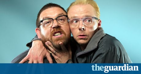 Simon Pegg and Nick Frost: the triumph of the nerds | Film ...