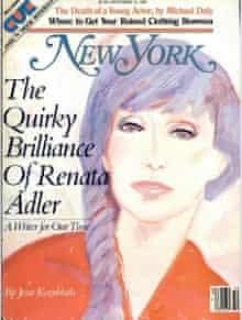 Renata Adler–New York magazine
