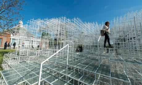 Serpentine pavilion by Sou Fujimoto