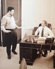 Peter Hyman with Tony Blair
