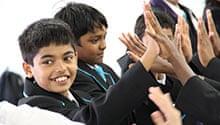 Peter Hyman: Pupils build trust at their new school last September