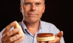 Mark Post presents the €250,000 burger