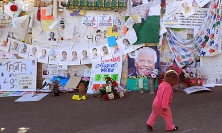 Get-well messages for Nelson Mandela