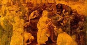 Da Vinci's Adorationof the Magi