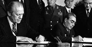 Ford and Brezhnev