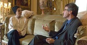 Sheikha Mozah with Ian Black