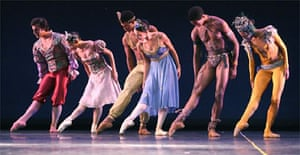 Carlos Acosta with guest artists from Ballet Nacional de Cuba, Sadler's Wells