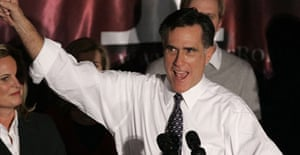 Mitt Romney speaks at a rally January 15 in Michigan.