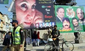 Pakistan election Rawalpindi policeman