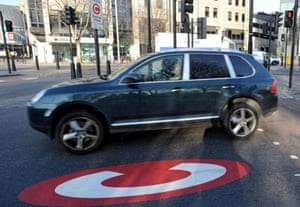 High-emission cars have been targeted by the treasury