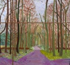 David Hockney's Woldgate Woods