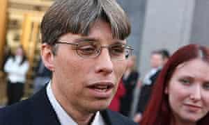 Steve Vander Ark outside court in Manhattan