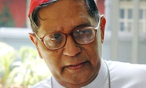 Cardinal Ivan Dias of Bombay, who is the most senior Catholic delegate invited to the Lambeth Conference.