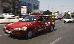 Biofuel car fuelled by waste fat