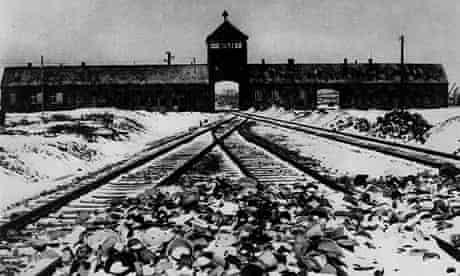 The railway appoach to Auschwitz